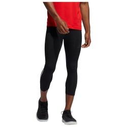 Adidas Techfit 3/4 3-Stripes Ανδρικό Αθλητικό Κολάν Capri Μαύρο
